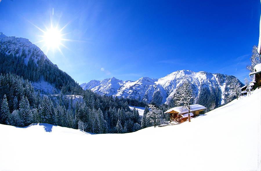 Oberstdorf Winterwoche für Singles