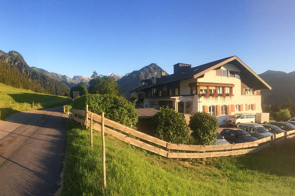 Oberstdorf Pfingsten 1