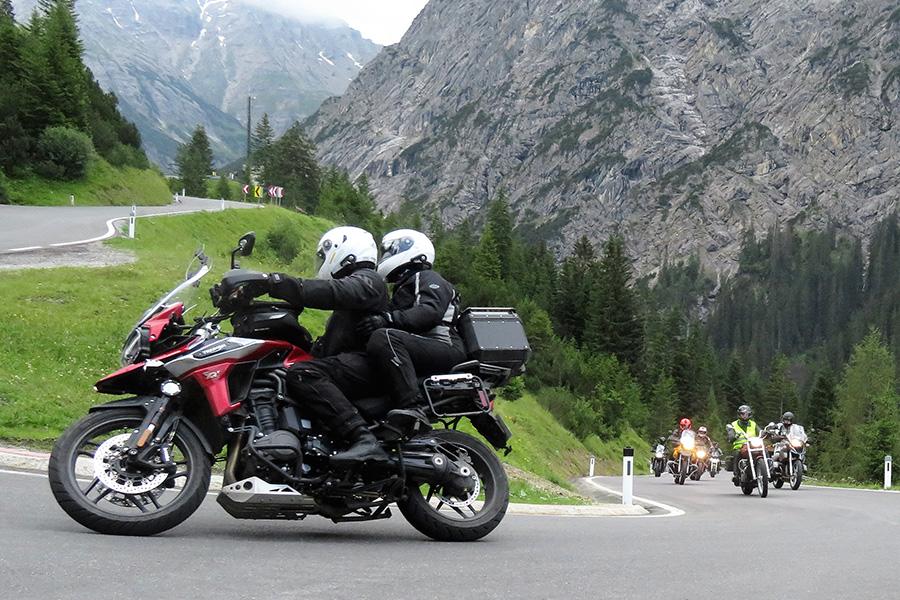 Pfälzerwald Motorrad