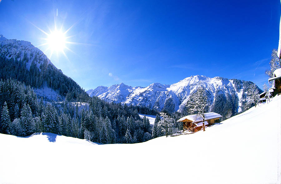 Oberstdorf Schneeschuh-Wanderwoche