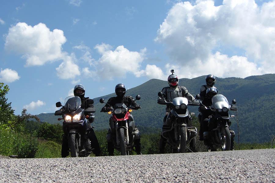 Forggensee Motorrad